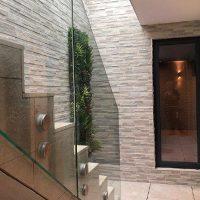 courtyard staircase
