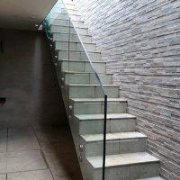 courtyard stair case